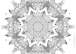 Small Picture Mandala Coloring Pages For Adults Coloring Book of Coloring Page