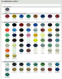 Bosny Spray Paint Color Chart Asmat Group Bosny Acrylic Aerosol Paint Other Products