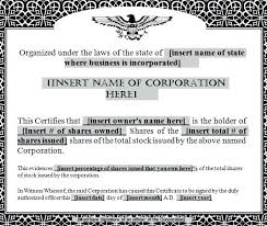 Template For Share Certificate Gotostudy Info