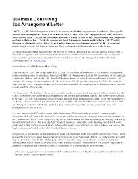 Sample Consulting Engagement Letter Word
