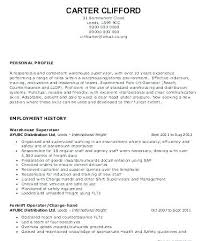 Warehouse Worker Sample Resume Mesmerizing Resume Sample For Warehouse Team Leader Combined With Warehouse Lead