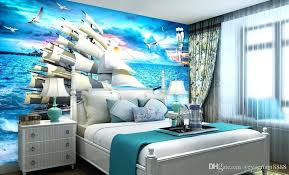 football wallpaper for bedroom bedroom football wallpaper custom modern sailing sea scenery background wall wallpapers for