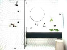 White Shower Floor Tile Hexagon Ideas Stylish Tiles