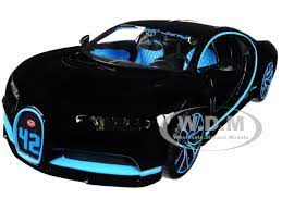 Sold and shipped by diecast models wholesale. Bugatti Chiron 42 Black Limited Edition 1 24 Diecast Model Car Maisto 31514