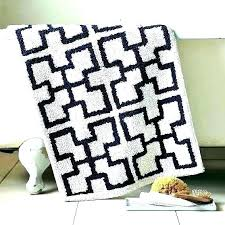 navy blue bathroom rugs anchor bath luxury quirky rug runner