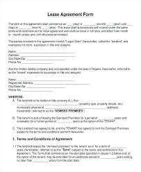 Lease Agreement Format Free Print Lease Agreement Forms Lapos Co