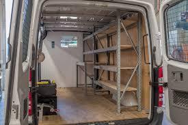 popular van shelving