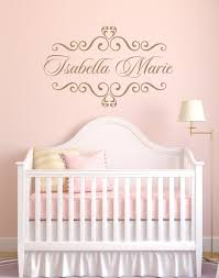 Small Picture Vinyl Decal Personalized Baby Nursery Name Vinyl Wall by wallartsy