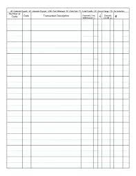 Check Ledger Book Blank Check Book Blank Check Register Template Printable Checkbook