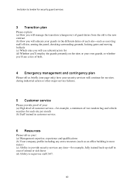 Security Guard Job Description Template Security Guard Job ...