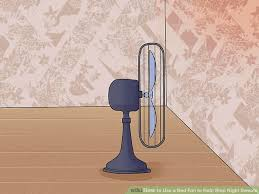 image titled use a bed fan to help stop night sweats step 3