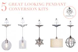 pendant lighting kits. brilliant pendant honeyandfitz5greatpendantconversionkits on pendant lighting kits a
