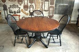 round farmhouse table expandable round table with leaves farmhouse table and chairs round farmhouse table