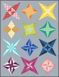 Announcing The 2017 Sampler Quilt Along   Blossom Heart Quilts & Milky Way Sampler QAL at BlossomHeartQuilts.com Adamdwight.com