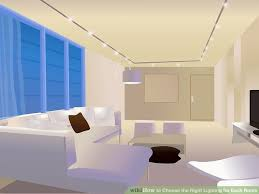 choose living room ceiling lighting. Image Titled 24286 7 Choose Living Room Ceiling Lighting