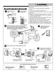 chamberlain garage door opener wiring chamberlain garage door opener manual