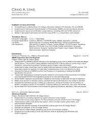Cncst Professional Summary Job And Resume Template 791x1024