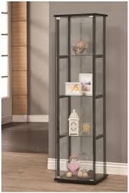 Metal Glass Display Cabinet Coaster Curio Cabinets Curio Cabinet Nassau Furniture Curio