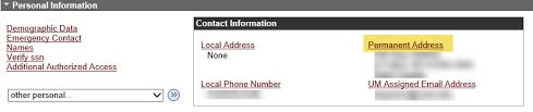 Manage Phone Address