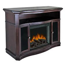 electric fireplace with thermostat and remote control
