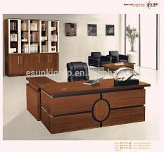 office table desk. Office Table Design, Wooden Modern Executive Desk Designs