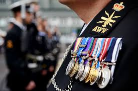 the british armed forces recognise outstanding personal achievements by giving individuals from royal navy air force