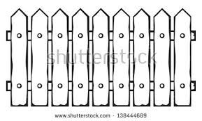 farm fence clipart black and white. Interesting Fence Farm Fence Clipart Black And White Intended R