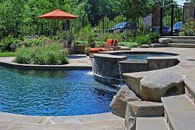 poolhottub hottubandpool outdoor hot tub87