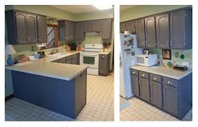 kitchen cabinets in driftwood gray milk paint topped with high performance top coat general finishes design center