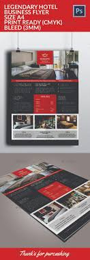 legendary hotel flyer template by maculinc graphicriver legendary hotel flyer template commerce flyers