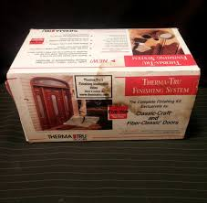 Therma Tru Finishing System Kit Light Oak Stain For Fiberglass Doors