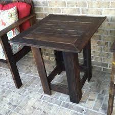 5 diy antique pallet side table ideas 101 pallets