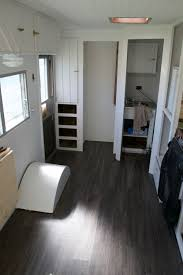 enclosed trailer flooring ideas. Vinyl Plank Flooring Was Both Aesthetically Pleasing And Functional. The Perfect Compromise! Enclosed Trailer Ideas I