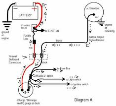 ford 1 wire alternator wiring diagram ford 3 wire alternator wiring diagram ford image one wire alternator wiring diagram chevy one auto