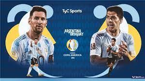 مشاهدة مباراة الأرجنتين وأوروجواي بث مباشر كوبا أمريكا 2021