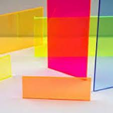 green fluorescent acrylic plexiglass sheet 1 16 x 12 x 12