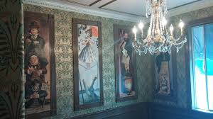 With some simple DIY ideas, you can create your own Haunted Mansion office!  Check