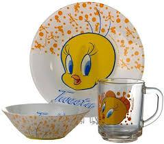 <b>Набор детской посуды Pasabahce</b> Твитти 3пр 95827: купить за ...