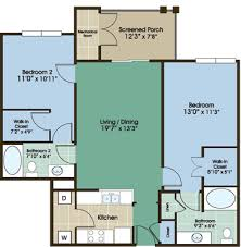 Gile Hill Affordable Rentals 2 Bedroom FloorplanApartments Floor Plans 2 Bedrooms