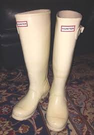 hunter boots size 6 the perfect uk hunter boots in white original gloss size 6