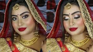 asian indian bridal makeup look hindi base makeup simply sneha