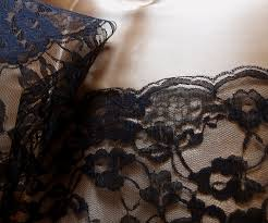 14 black lace runner 10 yards