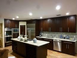 kitchen modern granite. Resurfacing Your Kitchen Cabinet : Modern Design With Dark Brown Wooden And Island Granite G