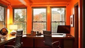 home office colors feng shui. Plain Shui Sharedhomeofficefengshuiorangecolor In Home Office Colors Feng Shui