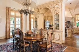 adjacent to the kitchen is a large breakfast room both the kitchen and the breakfast