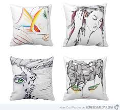Designer Decorative Pillows For Couch A Collection of 100 Various Impressive Throw Pillow Designs Home 39