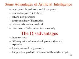 Advantages And Disadvantages Of Natural Gas What Are The Advantages And Disadvantages Of Artificial Intelligence