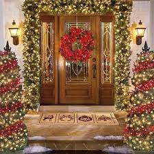 Small Picture Inspiring Christmas Decorating Ideas For Outside Pics Ideas Tikspor