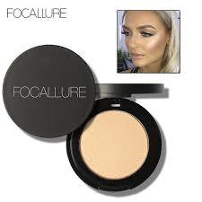 focallure 5 colors illuminator highlighter makeup powder brighten face foundation palette highlighting contour professional