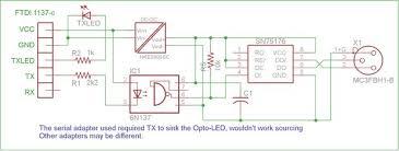 ftdi usb adapter based dmx transmitter isolation 3 steps